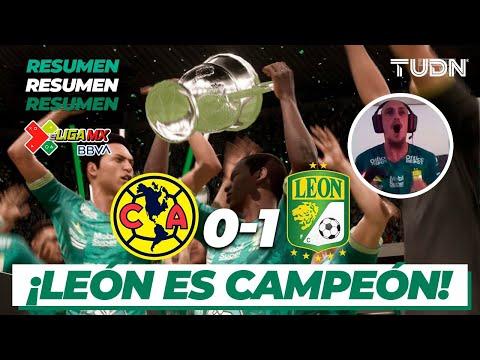 eLigaMx: Partido completo | América 0 - 1 León | Gran Final - Clausura 2020 | TUDN