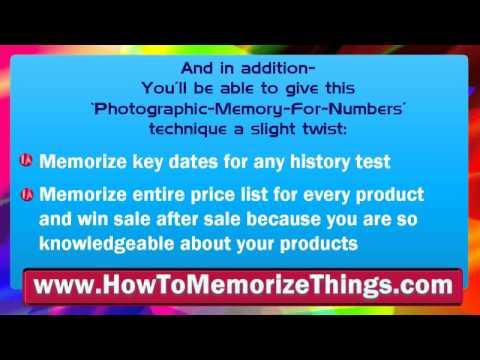 Photographic Memory Training - Photographic Memory Test