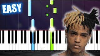 Baixar XXXTENTACION - SAD! - EASY Piano Tutorial by PlutaX