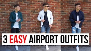 What To Wear When Travelling | 3 EASY AIRPORT OUTFIT IDEAS