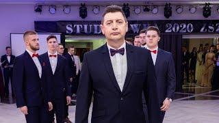 Studniówka ZSZ nr 1 w Ostrołęce - wystąpienie dyrektora