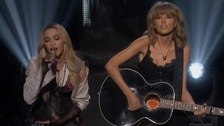"Taylor Swift & Madonna ""Ghosttown"" Surprise Performance at iHeartRadio Music Awards 2015"