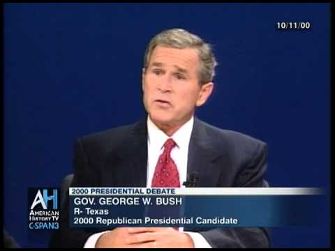 2000 Presidential Debate Preview
