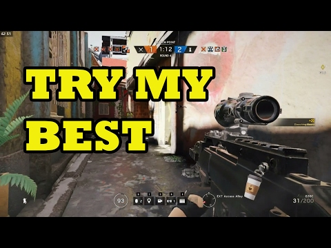 Try My Best ! Tom Clancy's Rainbow Six Siege Indonesia