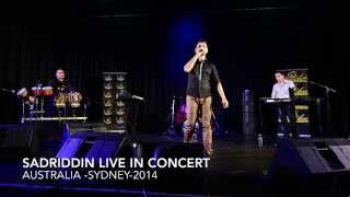 New Afghan Song- Sadriddin Ahmad Zahir Song Live In Concert-2014 Australia