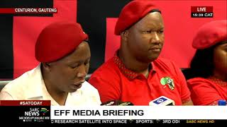 EFF holds media briefing | 09 February 2020
