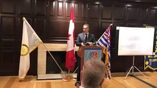 Rotary Club of West Vancouver Sunrise | Beverley von Zielonka | Collingwood School Principal 2018