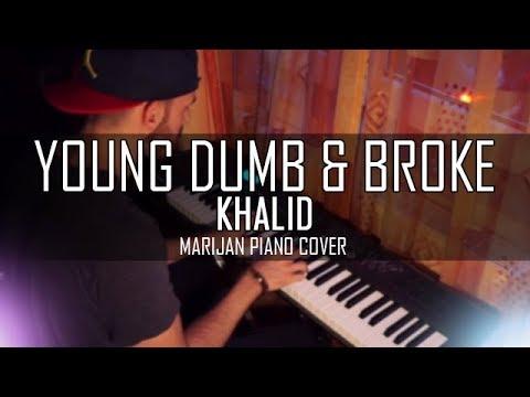 Khalid - Young Dumb & Broke | Piano Cover