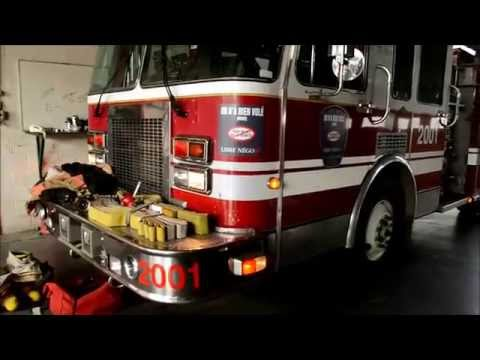 '92 SPARTAN GLADIATOR FIRE TRUCK START UP