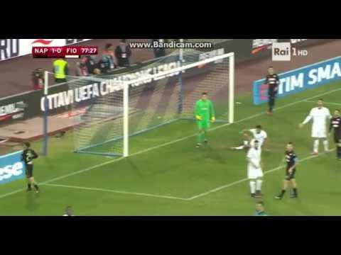 Super  Numero  Di  Lorenzo  Insigne  In  Napoli  -  Fiorentina   - 1 - 0 Coppa  Italia (Tim Cup) 17.
