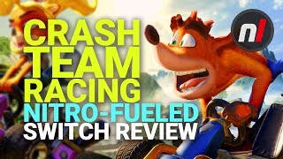 Crash Team Racing Nitro-Fueled Nintendo Switch Review - Is It Worth It? Video