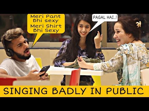 Singing Badly in Public | Funny Prank | Prank In Pakistan