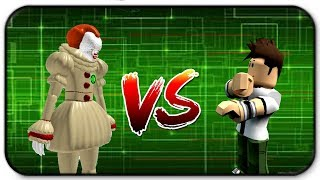 Pennywise It the Clown Vs Ben 10 Roblox Ben 10 Llegada de extraterrestres con Matrix Plays