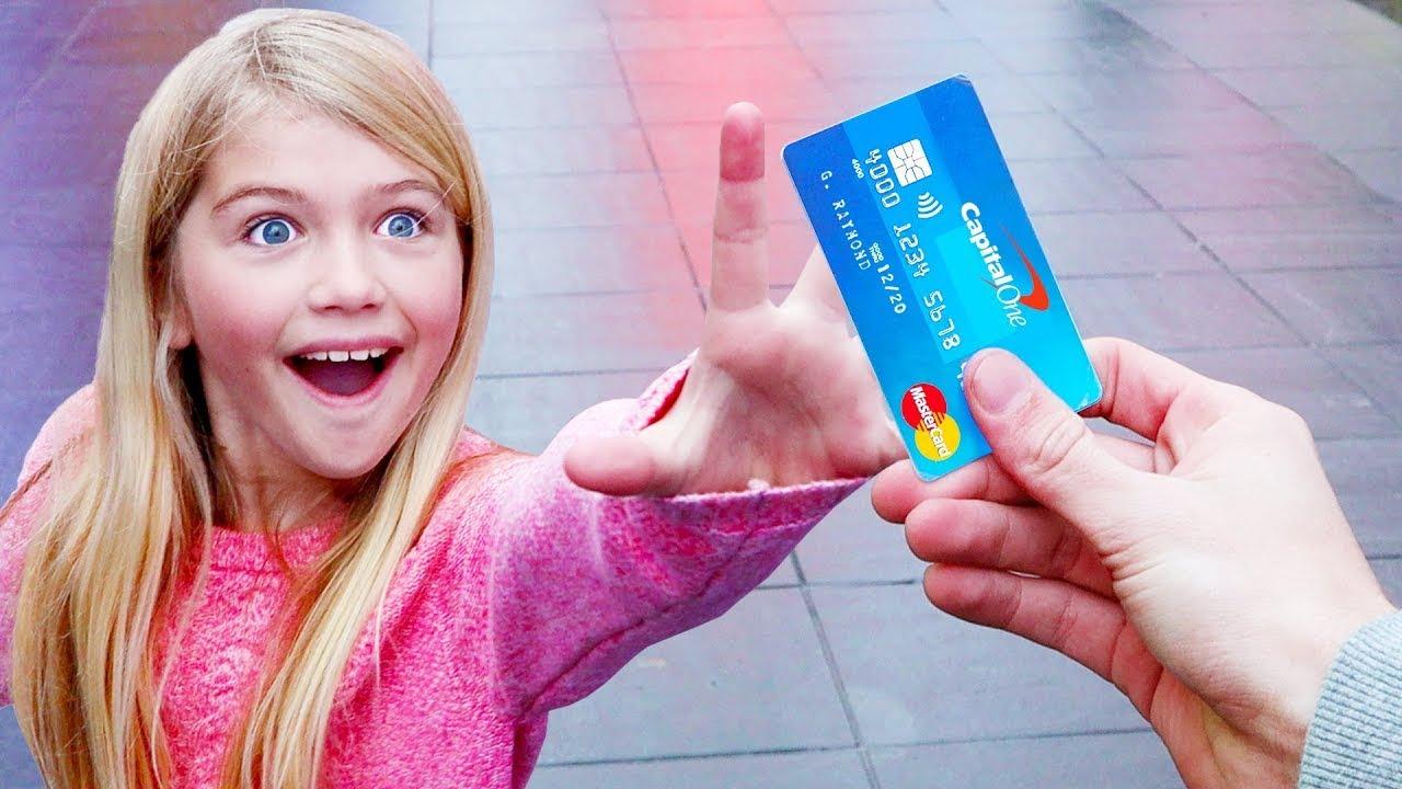 Я Даю Свою Кредитку Случайным Людям