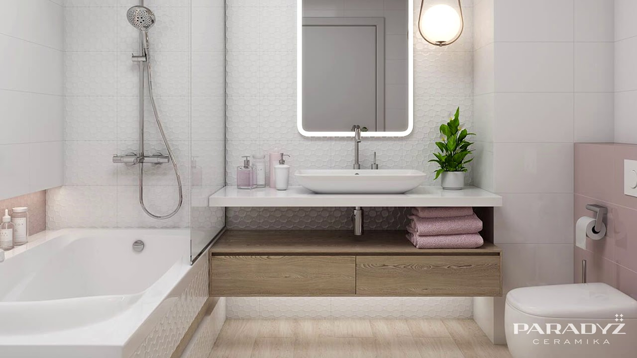 10 Najlepszych Pomysłów Na Aranżację Małej łazienki Ceramika Paradyż