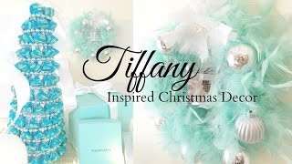 Tiffany Inspired Christmas Decor | Kisses Tree | DIY | Amberallure