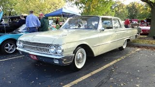 1961 Ford Galaxie Club Victoria 2 Door Hardtop - My Car Story with Lou Costabile