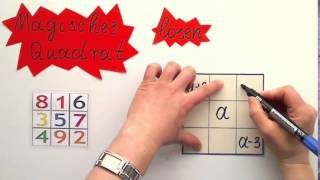 Magisches Quadrat lösen