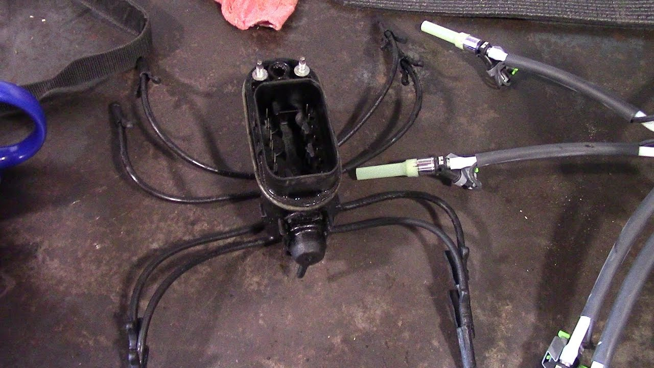 A Chevy Vortec Firing Wiring Harness on