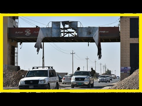 Kurdish troops halt iraqi forces on the kurdistan border