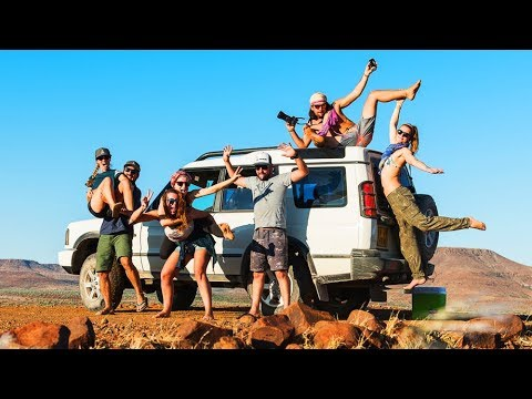 Namibian Desert! Camping, Getting Lost and Breaking Down...