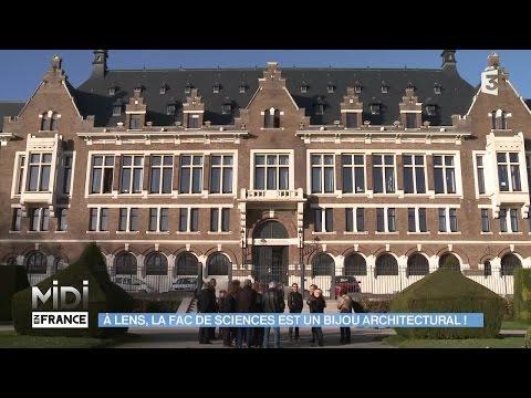 SUIVEZ LE GUIDE : À Lens, la fac de sciences est un bijou architectural