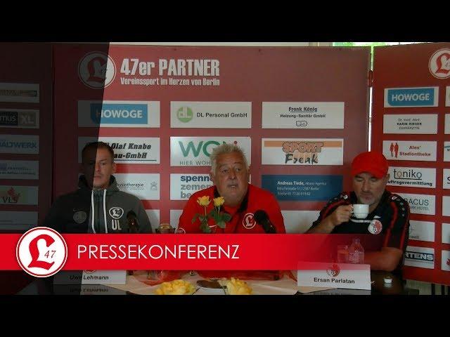 Regionalligateam: Pressekonferenz nach dem Spiel Lichtenberg 47 – Berliner AK