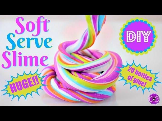 Soft serve slimebubblegum slime no borax ccuart Choice Image