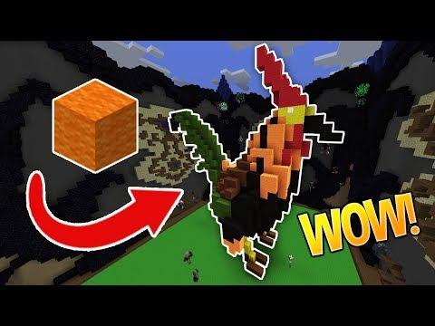 ONLY WOOOOOOL CHALLENGE!!! (Minecraft Build Battle)