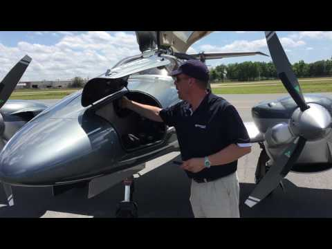 Diamond DA62 Flight Trial