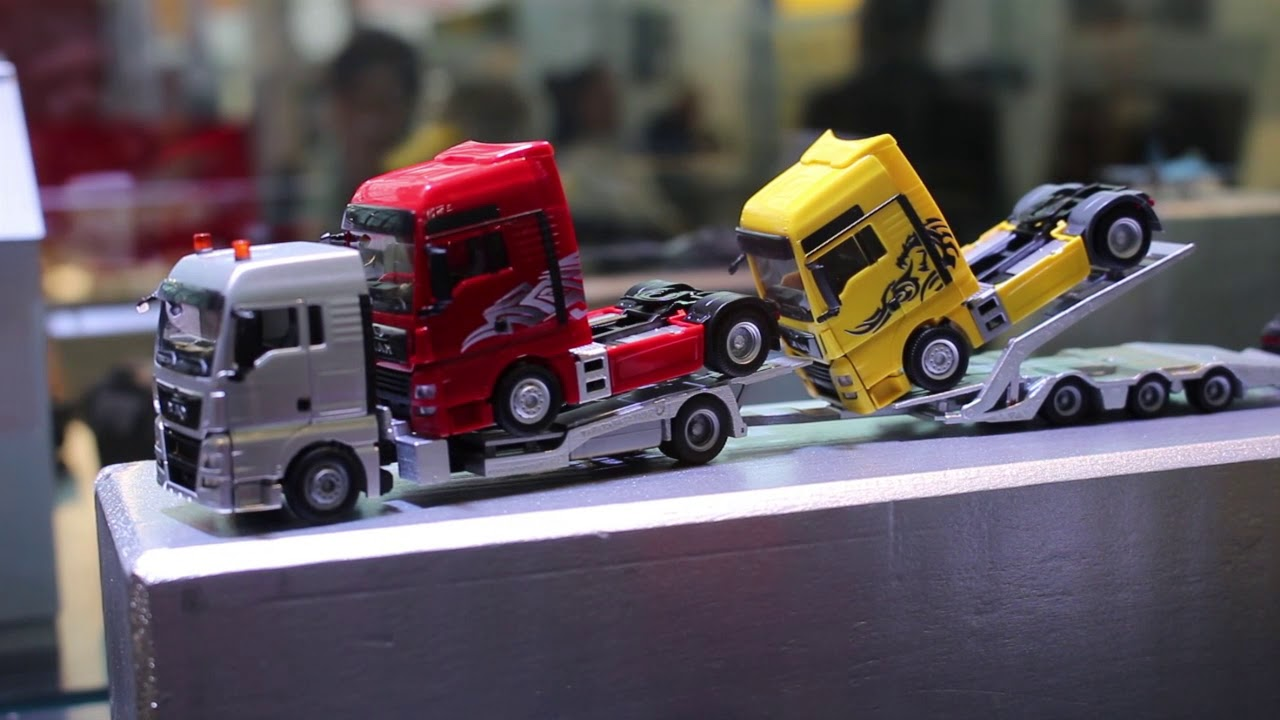 herpa spielwarenmesse 2018 news cars trucks youtube. Black Bedroom Furniture Sets. Home Design Ideas
