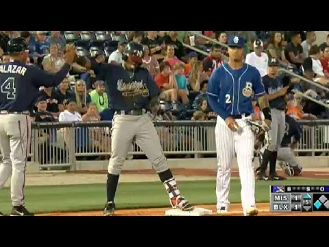 Mississippi's Acuna delivers run-scoring triple