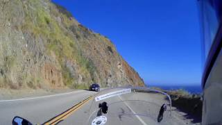 California Highway-1 Moto Ride-1