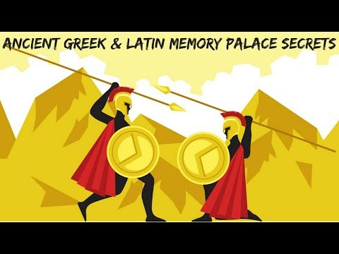 Ancient Greek And Latin Memory Palace Quantum Leap with Meraki Mnemonic Example