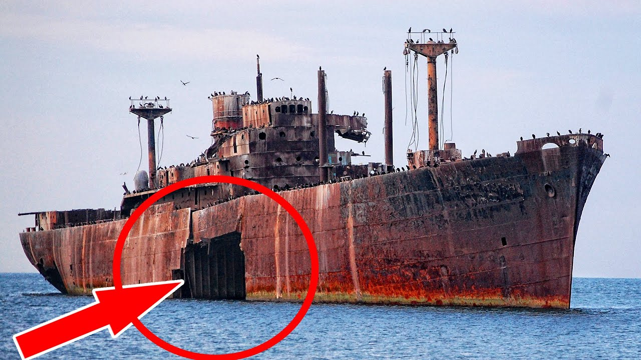 12 Most Abandoned Ships, Cruise ships, Ocean Liners and Cargo Ship