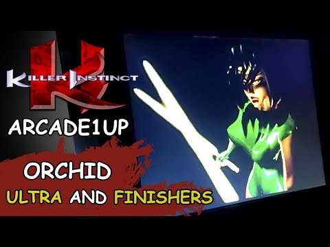KILLER INSTINCT ARCADE1UP // ORCHID 48 Hit ULTRA and FINISHERS from JDCgaming
