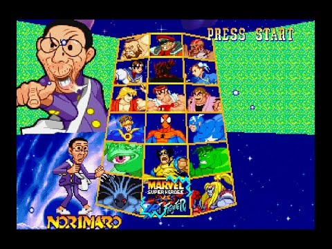 Marvel Super Heroes vs. Street Fighter [PS1] - Norimaro in ...