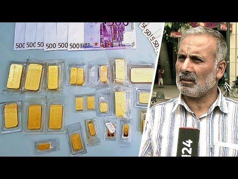 Berlin: Mann findet Goldbarren und Bargeld unterm Baum