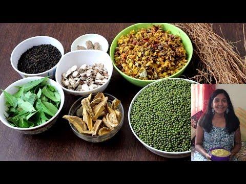 Homemade Natural Herbal Bath Powder Recipe-Herbal Body Wash Powder