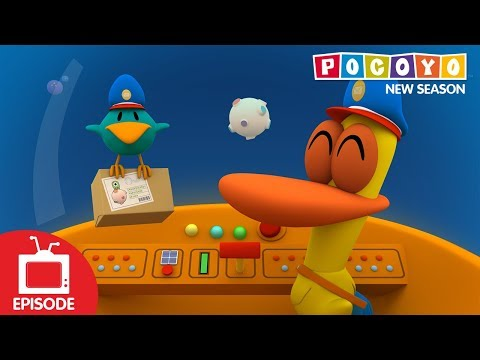 Pocoyo - Space Postal Service (S04E24) NEW EPISODES