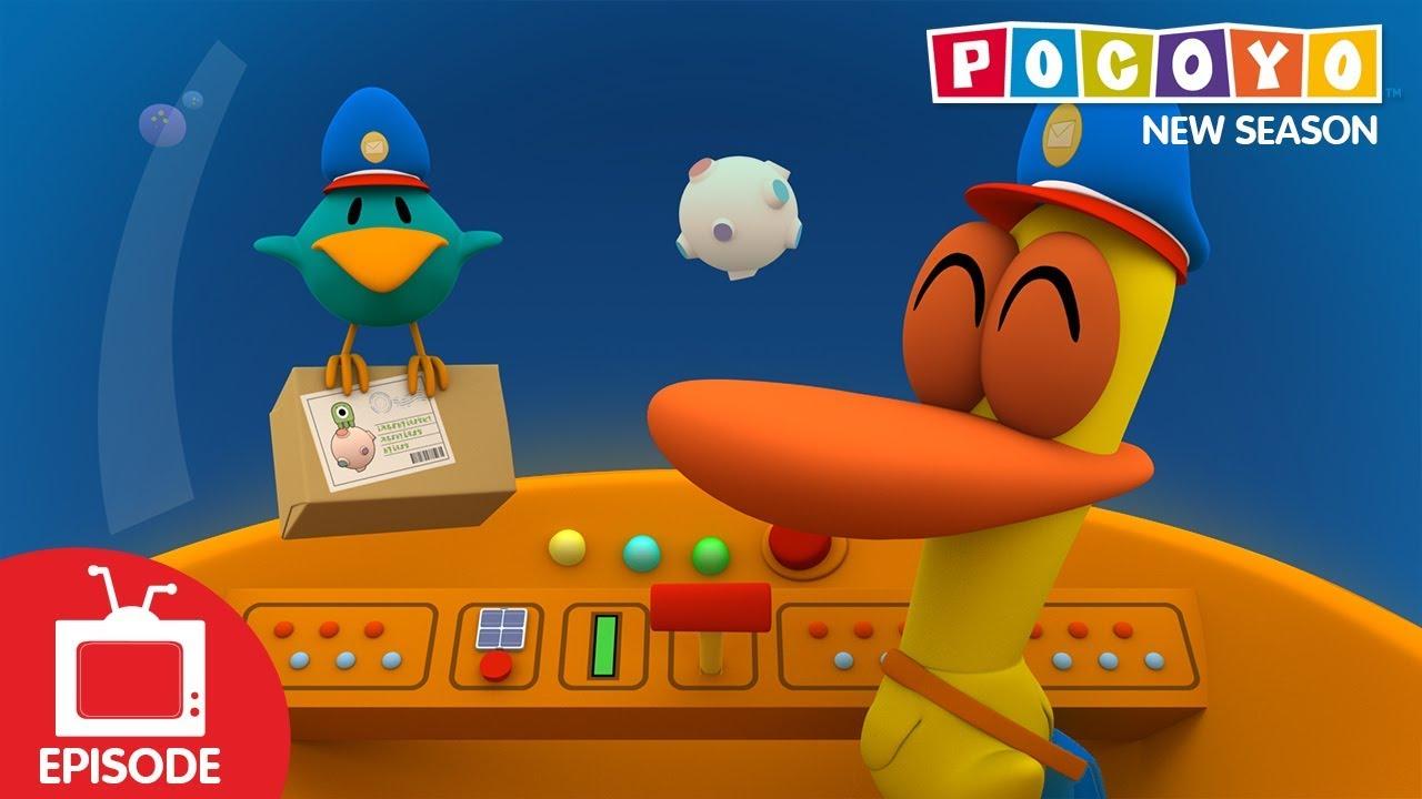 Pocoyo - Space Postal Service (S04E24) NEW EPISODES