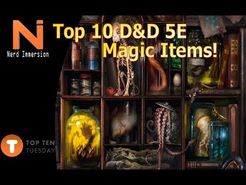 Curse of strahd 5e magic items