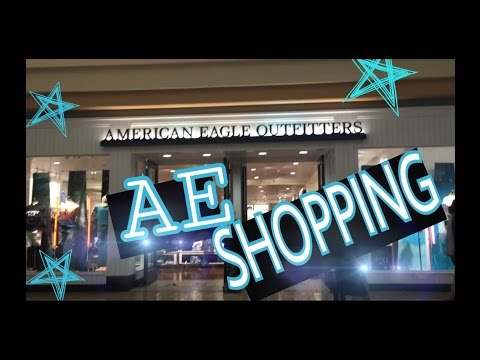 AMERICAN EAGLE SHOPPING 2017 | SHOPPING AT AMERICAN EAGLE