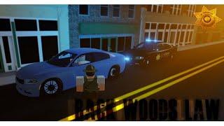 Roblox Live Backwoods Law RP - Ufficio dello sceriffo - SWAT