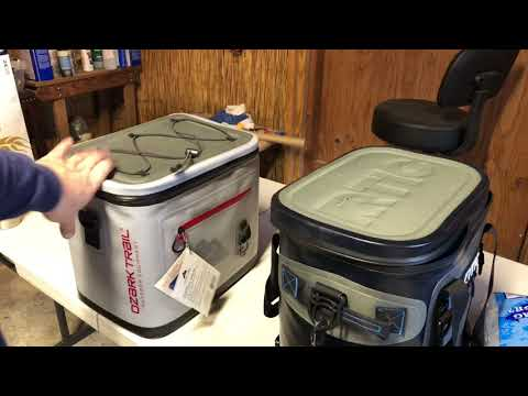 RTIC 20 Versus Ozark Trail Cooler - Week Long Test!!!