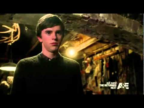 Bates Motel S03E08 Norma and Norman | Best Scene