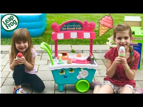 SUMMER TOYS FUN Series | Leap Frog Scoop & Learn Ice Cream Cart | Episode #1
