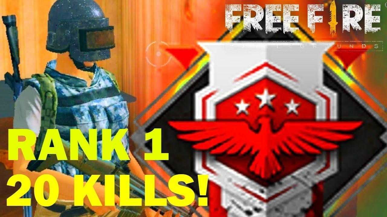 Kills Heroic Rank Best Player Free Fire Battlegrounds
