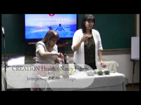 CREATION Health - Interpersonal Relationships by Nancy Judson