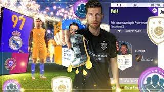 FIFA 18: Fettfinger PELE PRIME SBC mit SIMON + Pack Opening zu MOTM RONALDO 😱🔥